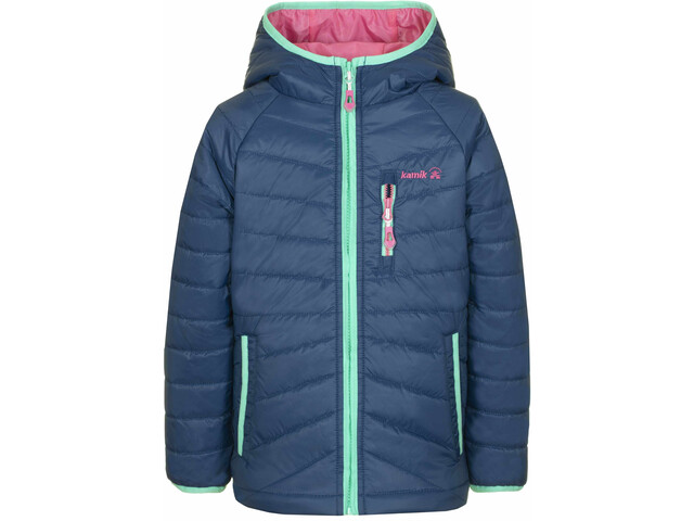 Kamik Hodele Jacke Kinder estate blue